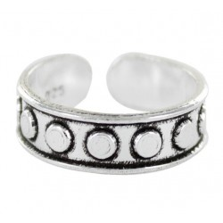 anillo de plata midi primera-segunda falange